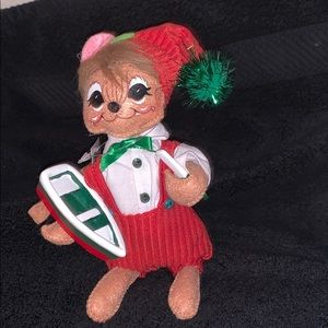 NWT Annalee Christmas Workshop Mouse
